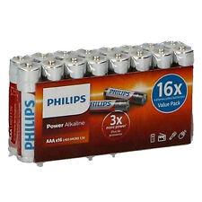 Philips Confezione 16 Batterie Ministilo AAA Power Alkaline 1,5V LR03 Micro