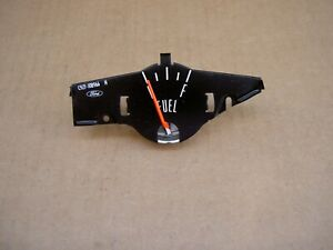 69-70 Ford Mustang instrument fuel gauge, C9ZZ-9305-A, RESTORED