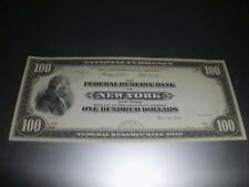 Dollars, billet, 100 Dollars, Federal Reserve Bank Note, copie, réplique, NEUF