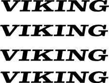 4 pc Viking Camper RV Vinyl Decal Sticker Pop Up Graphics Stickers 4 pc