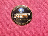 VINTAGE PIN PINBACK SOUTH SCHENECTADY ROTTERDAM NY 1937 1987 HMVFA CONVENTION