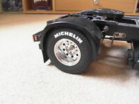 TAMIYA 1/14 SCANIA MAN VOLVO HAULERS truck stickers for wheels tyres MICHELIN