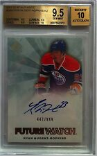 (HCW) 2011-12 SP Authentic RYAN NUGENT-HOPKINS Auto RC BGS 9.5 - #/999 - BGS 10