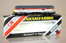 GRAHAM FARISH CJM KIT BUILT BR CLASS 47 LOCO 47972 ROYAL ARMY ORDNANCE CORP mz