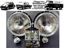 Volkswagen Caddy Mk1 Pick-Up 1980-1996 Xenon Halogen Upgrade Headlights 1
