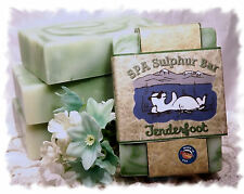 Apples & Oak _Tenderfoot_  SPA Sulphur Mineral Soap Made in Montana_Handmade