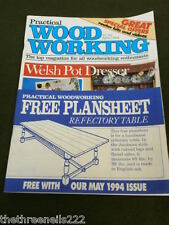 PRACTICAL WOODWORKING - REFECTORY TABLE - MAY 1994
