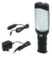 LAMPE BALADEUSE 48 LEDS  RECHARGEABLE + ALLUME-CIGARES - PRPL48LED/B