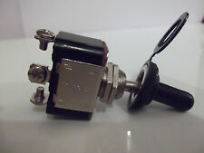 12v on/off/on toggle momentary spring return toggle switch  & waterproof cover
