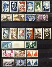 LOT TIMBRES NEUFS**    ANNEES 50-51    G.O    2 SCAN