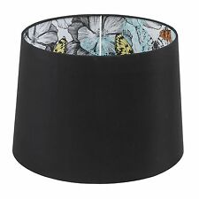 Verve Design LAMP SHADE Tapered Drum Inside Butterfly Printed Australian Brand