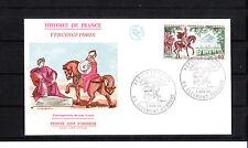 enveloppe 1er jour  Vercingetorix  Clermont Ferrand     1966