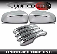 Jeep Cherokee Chrome Mirror Cover Chrome Door Handle Cover 14-17