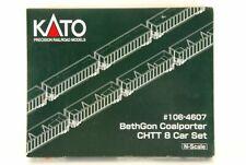KATO N scale #106-4607 BethGon Coalporter CHTT 8 Car Set !!