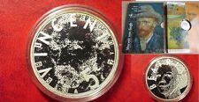 2003 Netherlands Silver 5 euro- Van Gogh-Nice holder