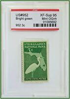 1947 3c US Stamp Everglades National Park PSE XF-Superb 95 Mint OGnh Scott #952