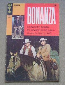 Bonanza #33 (Gold Key 1962 series) Photo cover; VG