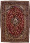 Traditional Floral Design Vintage Red 10X15 Oversized Oriental Rug Decor Carpet