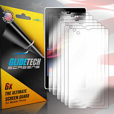 6x New Clear HD Front Screen Protector Guard Cover Film for Sony Xperia Z L36H