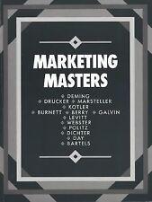 Marketing Masters by American Marketing Association