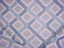 1-1/8Y Cowtan Tout 11156 Monaco Blue Diamond Lattice Drapery Upholstery Fabric