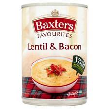 Baxters Favourites Lentil & Bacon Soup - 400g (0.88lbs)