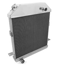 3 Row Performance Radiator For 39-41 Ford And Mercury Passenger Cars Ford Config