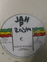 "Peter Roots ‎– Make It With You 12"" Vinyl Single ROOTS REGGAE"