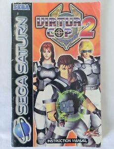 Sega Saturn Manual Only - Virtual Cop 2