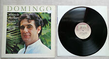 "DISQUE VINYLE 33T LP MUSIQUE / PLACIDO DOMINGO ""ALWAY IN MY HEART"" 1984 HOLLAND"