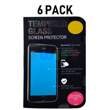 6-Pack iPhone 6 Plus / 6s Plus Tempered GLASS Screen Protector Bubble Free