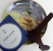 "Great Clipper Ships Flying Cloud Plate Franklin Porcelain 9"" Orig Box Pearce fr"