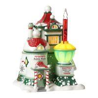 Pip & Pops Bubble Works Dept 56 North Pole Village 4025280 Christmas shop snow Z