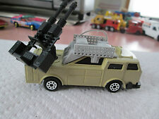 Majorette Military Command Center Artillery Gun Truck Sonic Flasher
