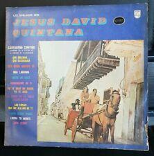 Lo Mejor De Jesus David Quintana Album Record Vinyl