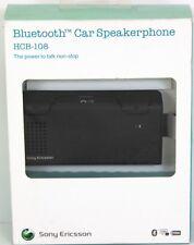Sony Ericsson HCB-108 Bluetooth Freisprechanlage Auto Freisprecheinrichtung schwarz