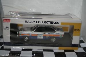 SunStar Ford Escort MK2 RS1800 Rally New Zealand 1979 4850 1:18 Scale