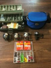 Large Lot New and Used Fishing Gear Tackle, Reels, Knife, Cutters, etc