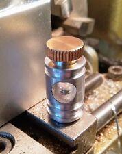 Tubo de Máquina de Tatuaje Giratoria BTM vice, Aluminio & Brass pulgar atornillar hecho a mano