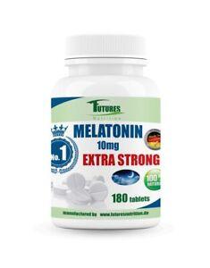 Melaton 10 mg 180veg abletten fon Futures Nutrition melatoni