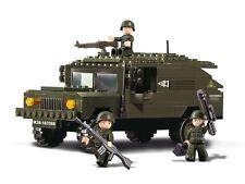 Sluban NEW Building Bricks Block Minifigure toy set Humvee Army Hummer 191pcs