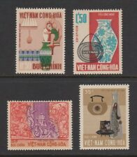 S.Vietnam Stamps Arts and Craft: Potter, Vase & Lamp Sc # 311-14 VF/MNH 4 Values