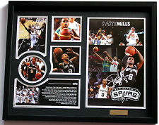 New Patrick Patty Mills Signed San Antonio Spurs Limited Edition Memorabilia