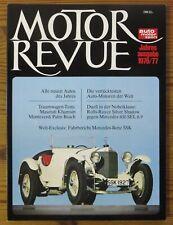 Motor Revue Jahresausgabe 1976/77 Test Maserati Khamsin, Monteverdi Palm Beach