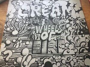 Cream - Wheels of fire - RSO Records 1968 UK EX