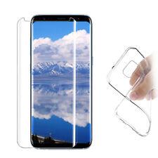 3D Panzer Glas Samsung Galaxy S8 Plus Curved Display Schutz Folie Full Screen 9H
