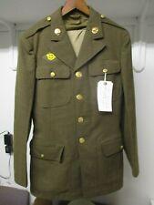 Orig Ww2 Uniform worn by Jewish Service Man Harold Ehrenpreis Cavalry Signal Crp