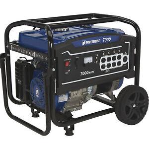 Powerhorse Portable Generator - 7000 Surge Watts, 5500 Rated Watts