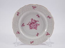 "PIATTO ANTICO PORCELLANA HEREND HUNGARY PORCELAIN DECORATO A MANO ""LE ROSE"""
