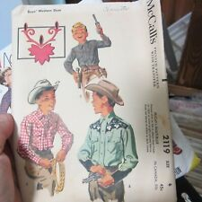 McCall's Pattern 2119 Boys Size 6